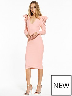v-by-very-power-shoulder-bodycon-dress-blush