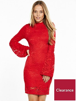 v-by-very-tulip-sleeve-lace-bodycon-dress-red