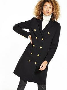 superdry-priya-long-military-coat-black