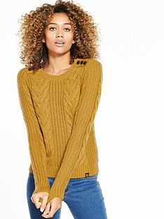 superdry-jenna-cable-jumper-ochre