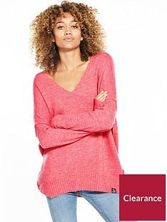 superdry-ruben-vee-jumper-bright-pink