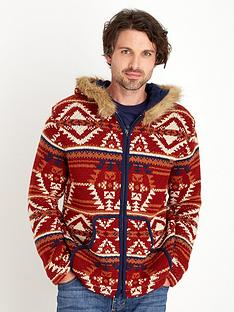 joe-browns-aztec-faux-fur-hoody