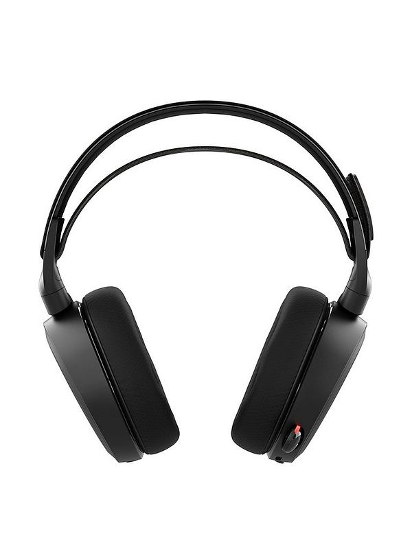 02cb6399566 SteelSeries Arctis 7 Wireless Gaming Headset – Black | very.co.uk