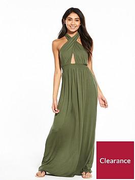 v-by-very-keyhole-halter-neck-jersey-beach-maxi-dress