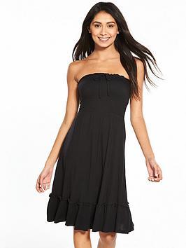v-by-very-strapless-jersey-frill-beach-dress-blacknbsp