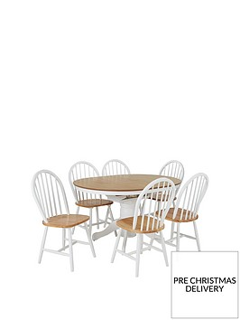 kentucky-100-130-cm-extending-round-dining-table-6-chairs