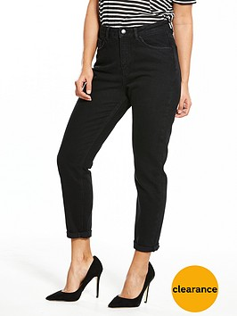 v-by-very-washed-black-mom-jean