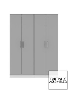 swift-montreal-gloss-ready-assembled-tall-4-door-wardrobe