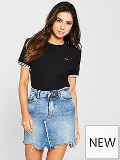 fred-perry-twin-tipped-t-shirt-black