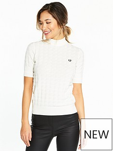 fred-perry-fred-perry-turtleneck-houndstooth-jumper