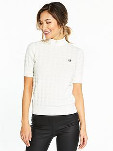 fred-perry-turtleneck-houndstooth-jumper