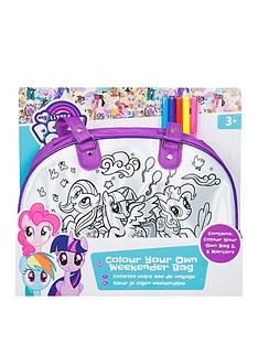 My Little Pony My Little Pony Colour Your Own Weekender Bag