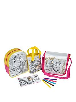 Photo of Disney beauty and the beast disney beauty & the beast belle colour your own 4 pack bag gift set