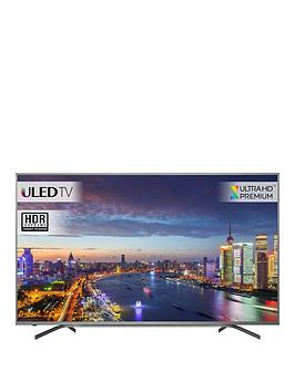 Image of Hisense H70NU9700 ULED HDR 4K Ultra HD Smart TV, 70 with Freeview Play, Grey, Ultra HD Premium Certified