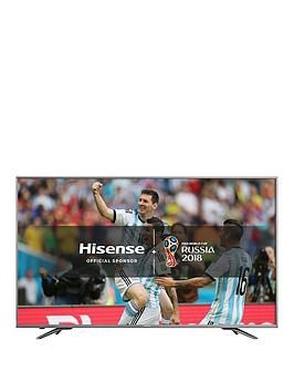 Image of Hisense H65N6800 ULED HDR 4K Ultra HD Smart TV, 65 with Freeview Play, Dark Grey