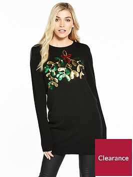 v-by-very-mistletoe-embellished-christmas-tunic-jumper