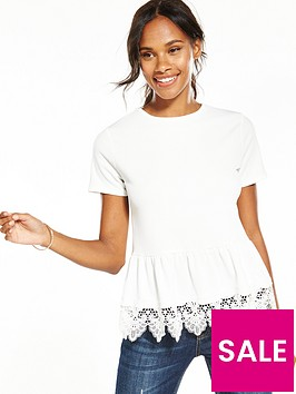 v-by-very-lace-trim-peplum-top