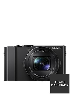 panasonic-panasonicnbsplumix-dmc-lx15-201nbspmegapixel-4k-ultra-hd-digital-camera-3x-optical-zoom-3-lcdnbsptiltable-touch-screennbsp--black-with-pound140-double-cashback