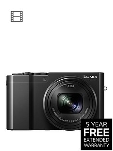 panasonic-lumix-dmc-tz100-digital-camera-wi-fi-3-inch-lcd-touch-screen-black-with-extended-5-year-warranty-available