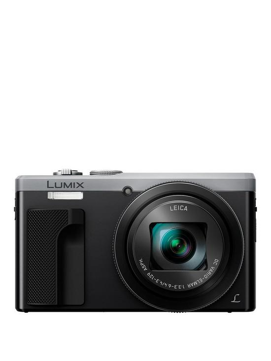 Lumix DMC-TZ80 30x Zoom Digital Camera with 24mm Leica Camera Lens - Silver
