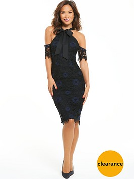 myleene-klass-tie-lace-bodycon-dress