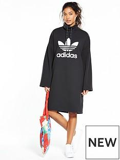 adidas-originals-hu-hiking-loose-dress-black