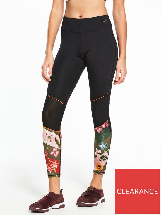 0864aa1ab84d9 Ted Baker Fit To A T Hampton Cruise Leggings - Multi