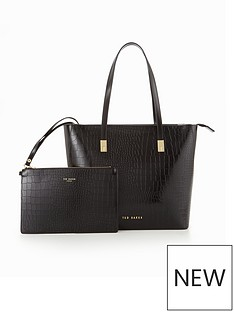 ted-baker-crock-embossed-large-tote-with