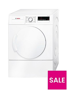 Bosch Serie 4 WTA79200GB 7kg Load Vented Tumble Dryer with Sensitive Drying System - White