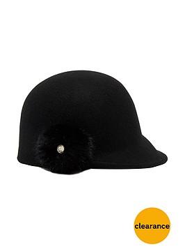 ted-baker-faux-fur-pom-pom-detail-cloche-hat