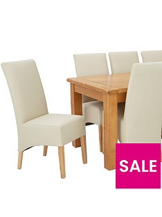 oakland-170cm-solid-wood-dining-table-8-eternity-chairs