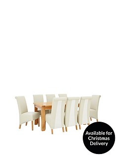 oakland-170-cm-solid-wood-dining-table-8-sienna-chairs