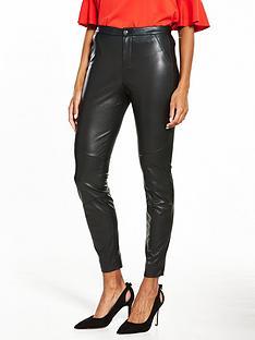 boss-orange-saby-pu-trouser-black