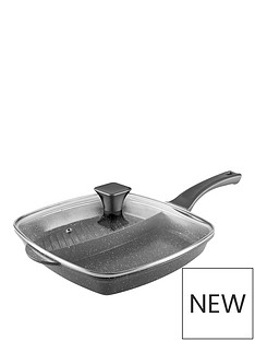 tower-cerastone-28-cm-2-in-1-cast-grill-pan