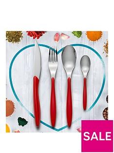 swan-oslo-24-piece-cutlery-set-red