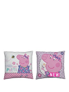 Peppa Pig Pepper Pig Happy Square Cushion