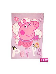 peppa-pig-pepper-pig-happy-rotary-fleece-blanket