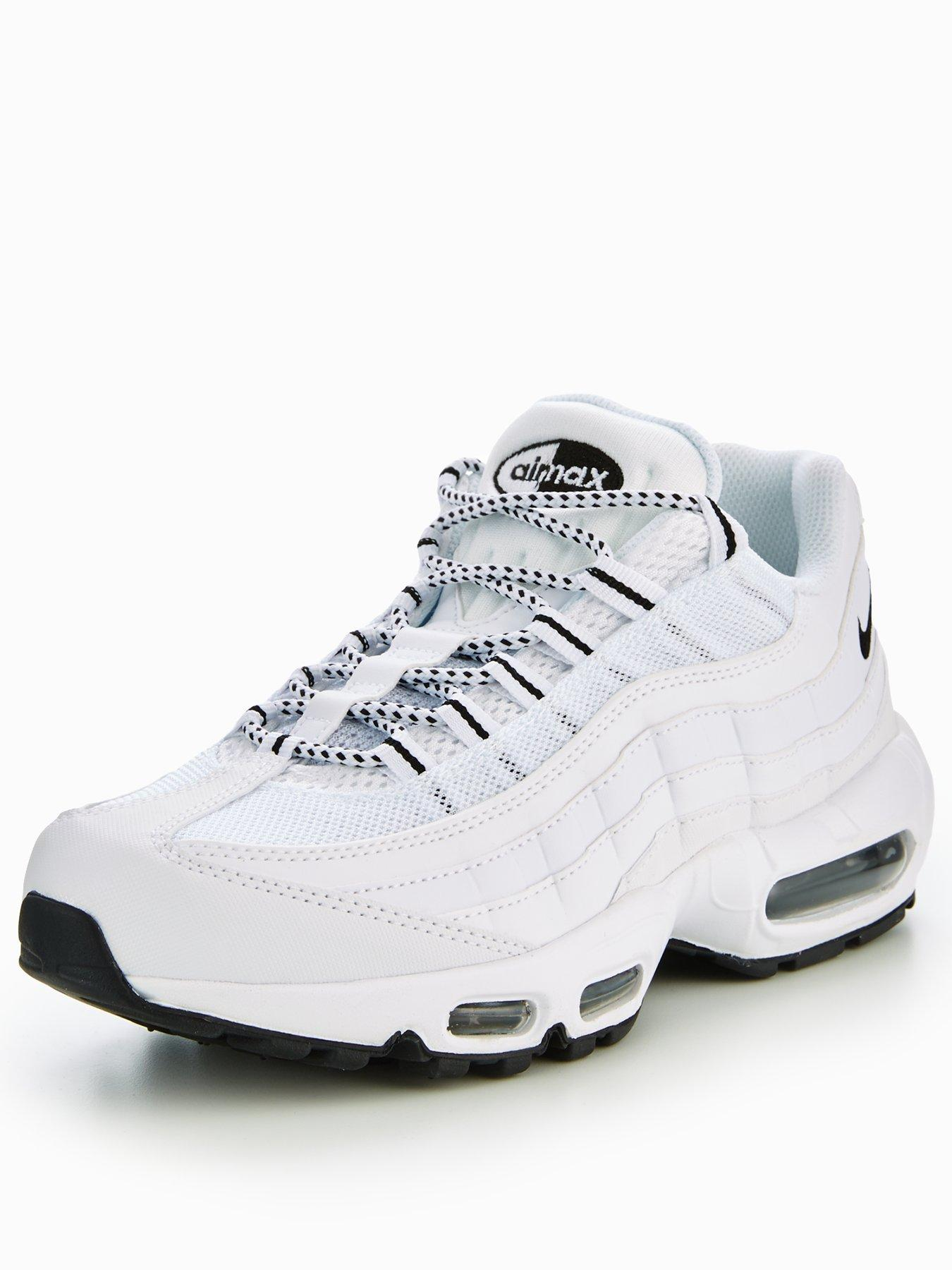 all white air max 95