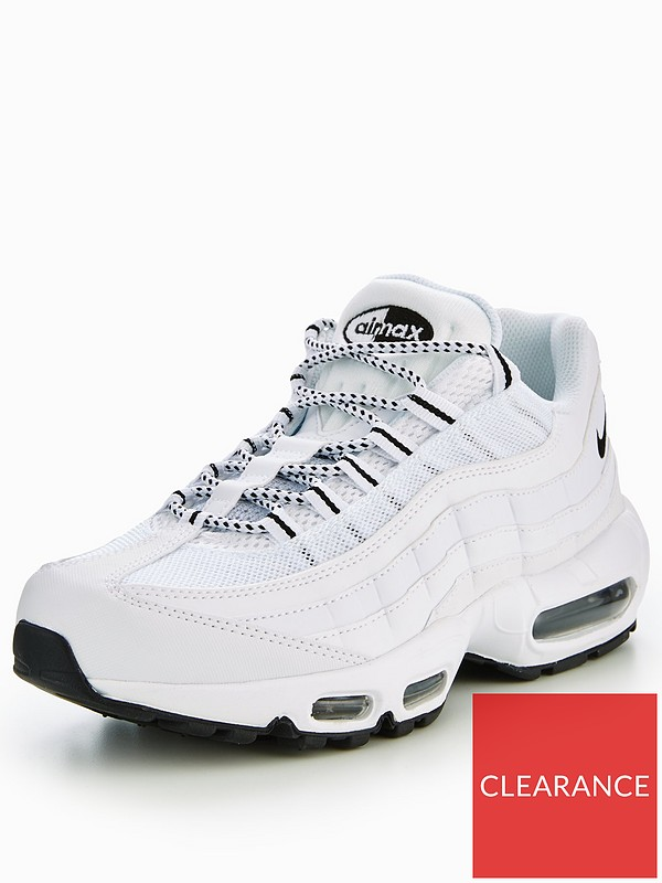 Nike Air Max 95 White | very.co.uk