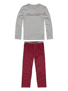 calvin-klein-logo-pyjama-set
