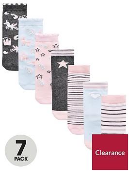 mini-v-by-very-girls-7-pack-unicorn-socks