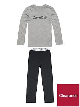 calvin-klein-boys-logo-long-sleeve-pyjama