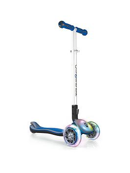 Globber Elite Fl Scooter - Blue