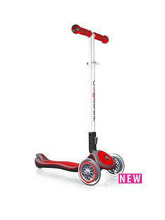 plum-globber-elite-s-scooter-red