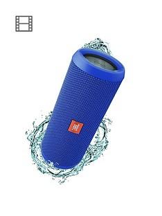 JBL Flip 4 Wireless Bluetooth Speaker - Blue
