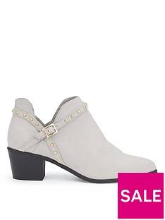 miss-selfridge-grey-stud-cut-out-boot