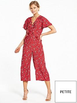 miss-selfridge-petite-ditsy-print-angel-sleeve-jumpsuit