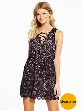 miss-selfridge-petite-all-over-lace-dress