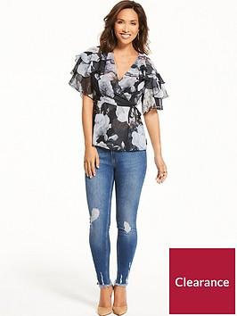 myleene-klass-contrast-tie-wrap-blouse