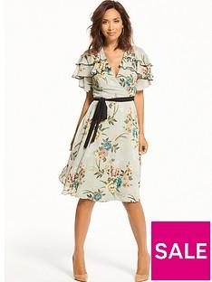 myleene-klass-contrast-tie-tea-dress